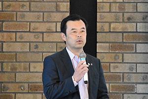 辻宏康和泉市長による講演会を開...